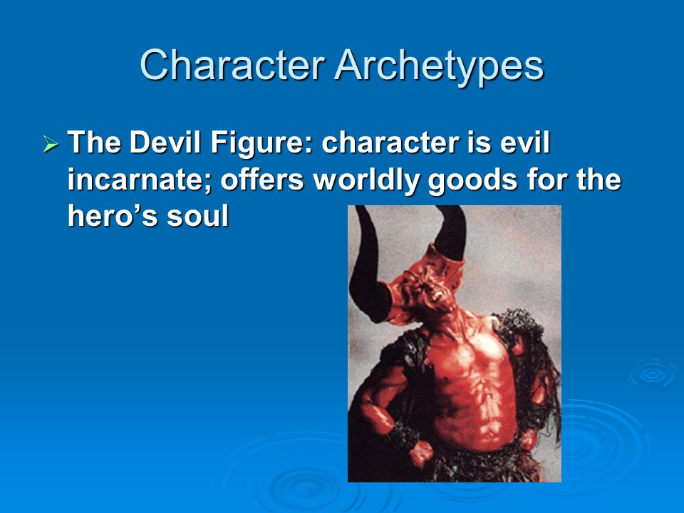 Character Archetypes  Evil Figure with Ultimately Good Heart: saved by love of the hero