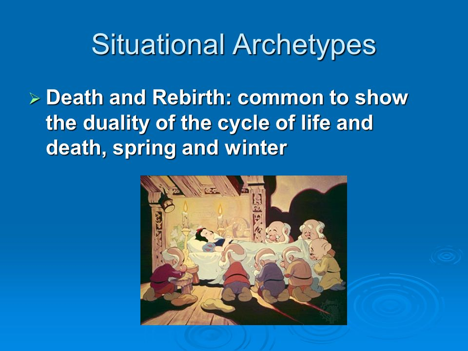 Situational Archetypes  Nature vs.
