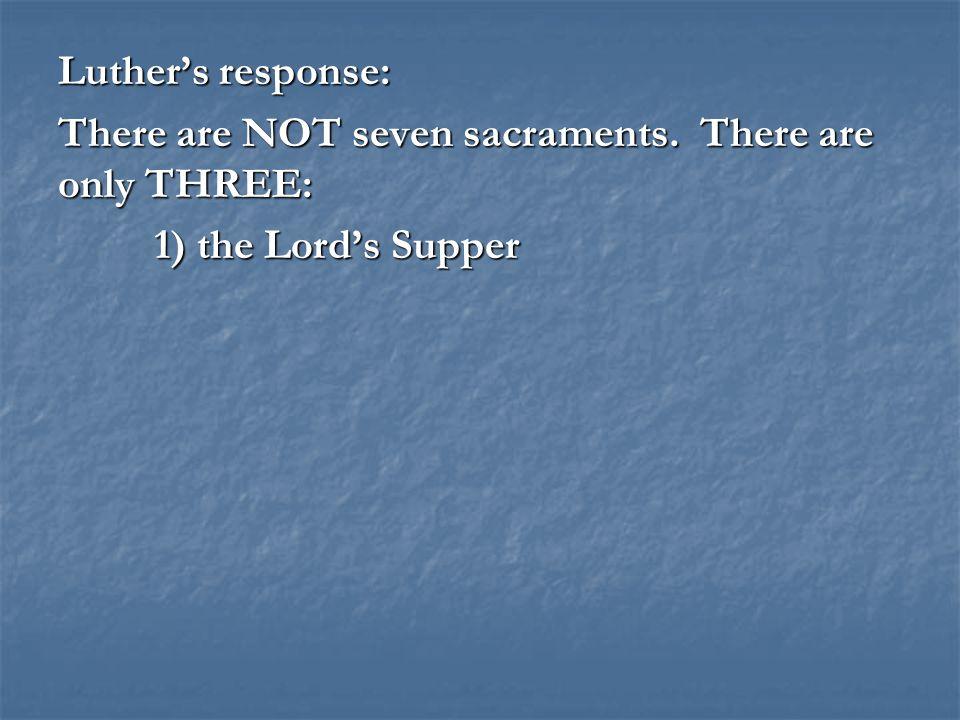 2. Baptism