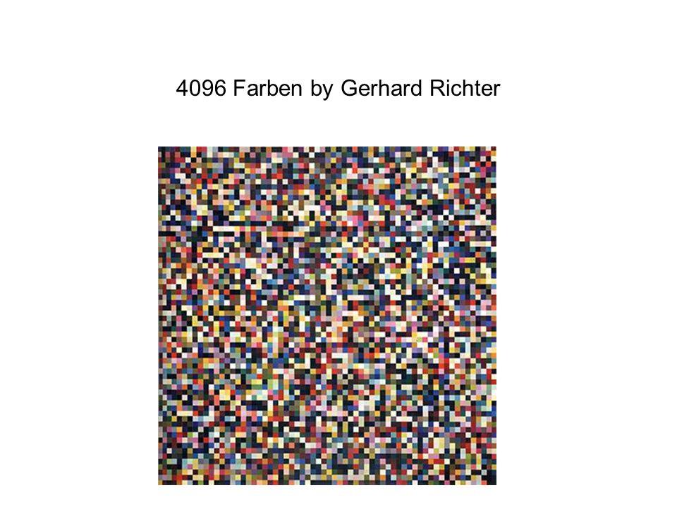 4096 Farben by Gerhard Richter