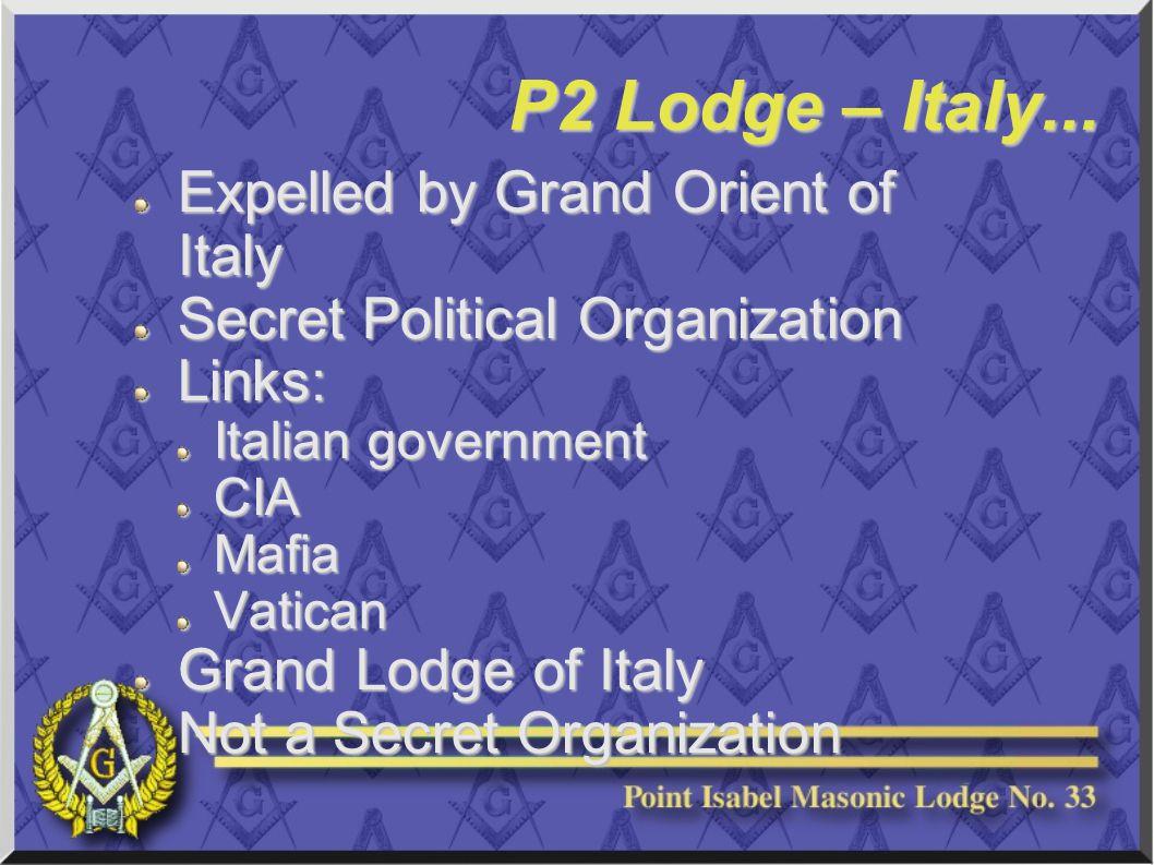 P2 Lodge – Italy...