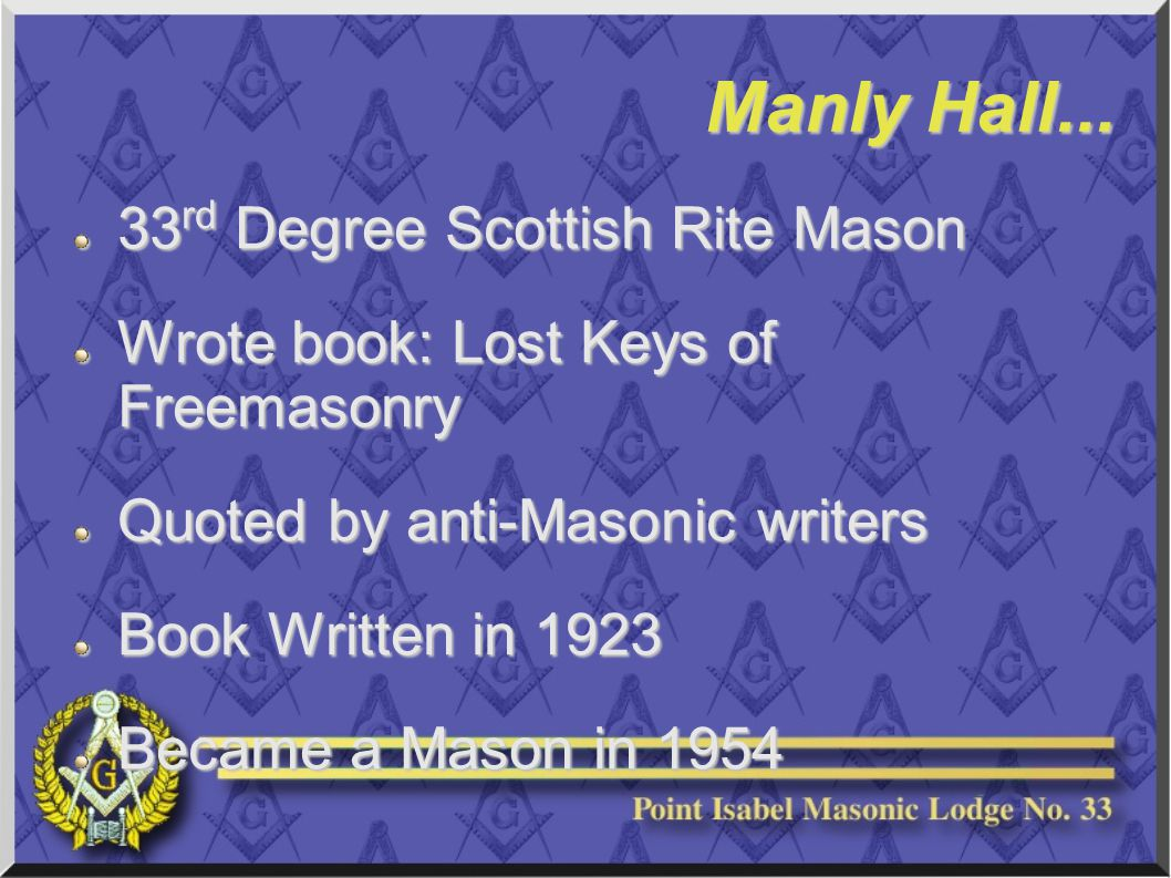 Manly Hall...