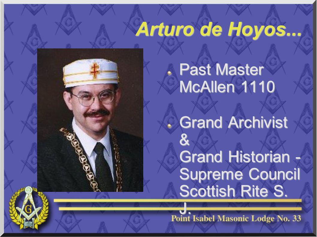 Arturo de Hoyos...