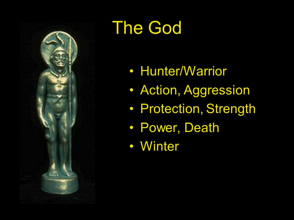 The God Hunter/Warrior Action, Aggression Protection, Strength Power, Death Winter