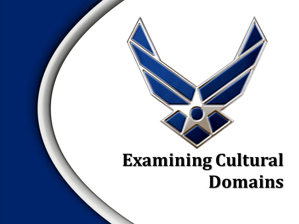 Examining Cultural Domains