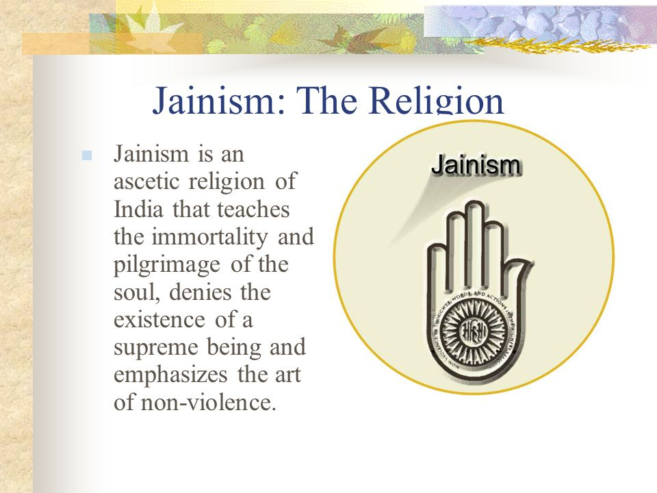 Jainism History Jainism: founded by Mahavira in the sixth century BCE contains elements of Hinduism and Buddhism practice non-violence or non-injury History Jainism: founded by Mahavira in the sixth century BCE contains elements of Hinduism and Buddhism practice non-violence or non-injury