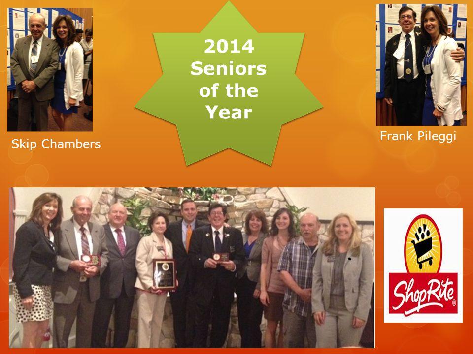 SENIORS OF THE YEAR AWARDS Orange County Executive Steven M.