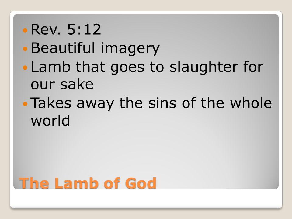 The Lamb of God Rev.