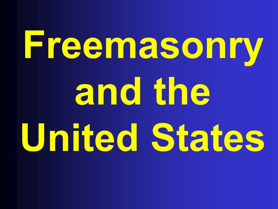 Freemasonry and the United States