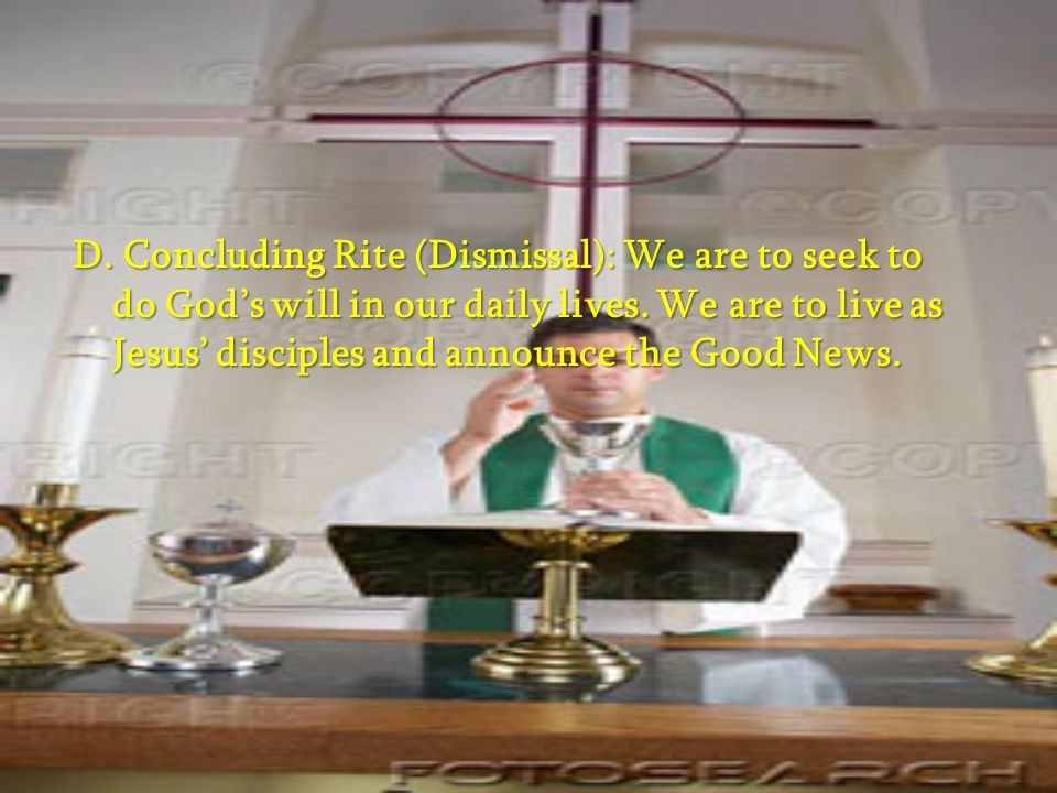 C. Liturgy of the Eucharist: Only validly ordained priests can preside at the Eucharist and consecrate the bread and wine. * Preparation of the Gifts