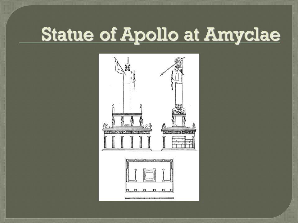 Statue of Apollo at Amyclae
