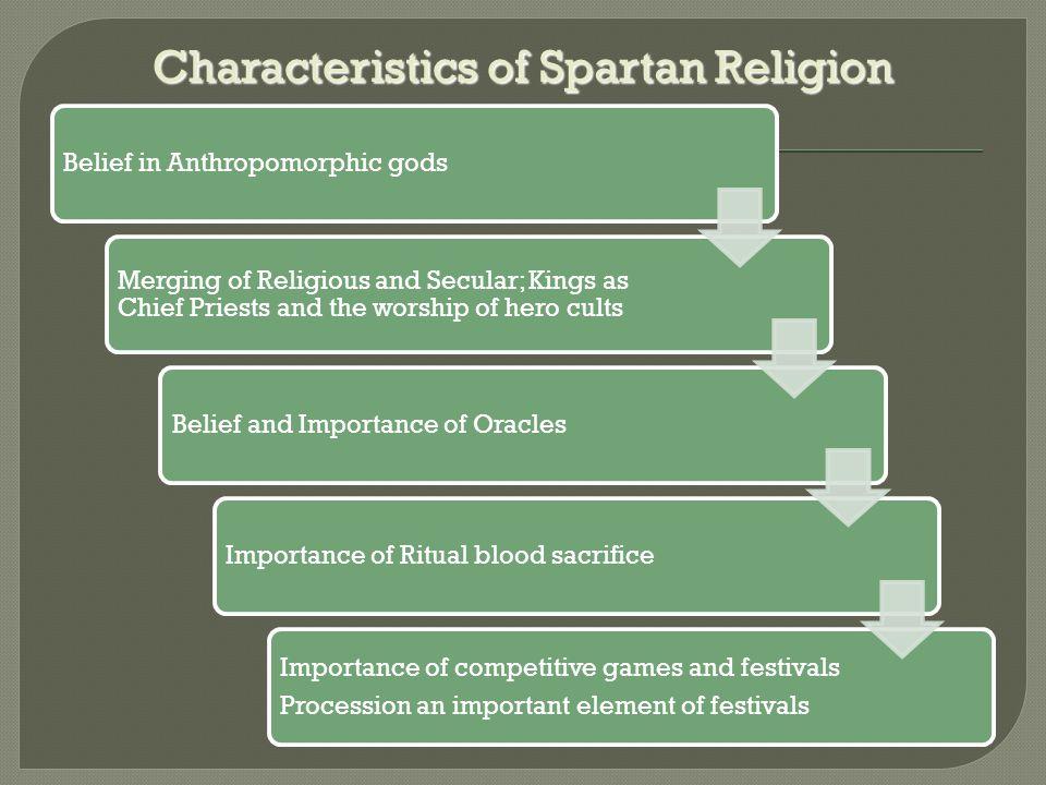 Characteristics of Spartan Religion