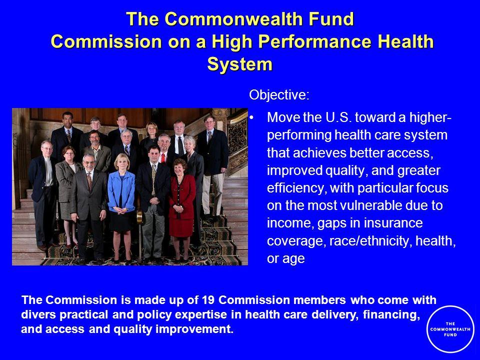Major Commission Products Framework Statement (August 2006) –Provides sense of urgency to transform U.S.