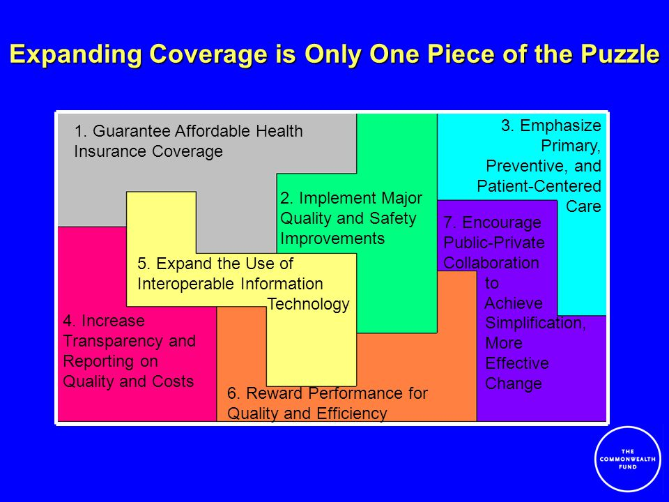 Expanding Coverage is Only One Piece of the Puzzle 7.