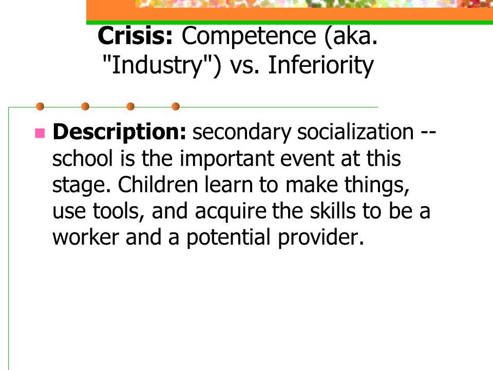 Crisis: Competence (aka.