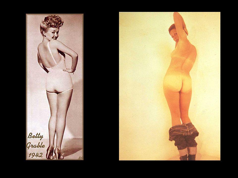 Betty Grable; Lynda Benglis