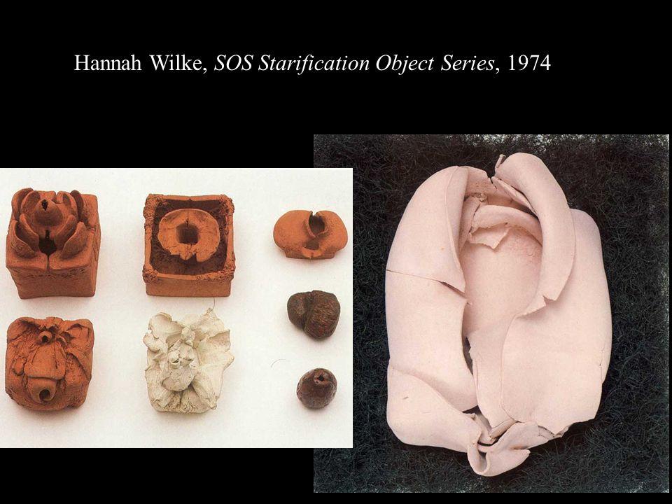 HW Teasal Cushion Hannah Wilke, SOS Starification Object Series, 1974