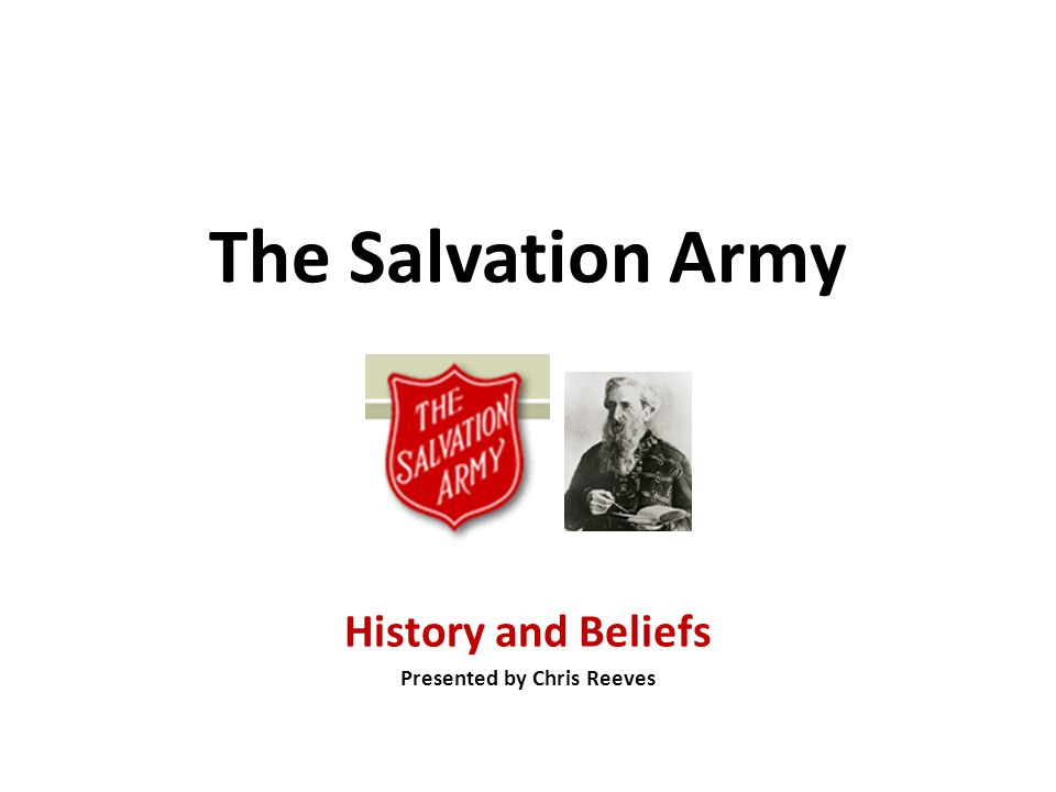 Salvation Army Plan of Salvation Soldier's Covenant (Doctrines of the Salvation Army) 1.