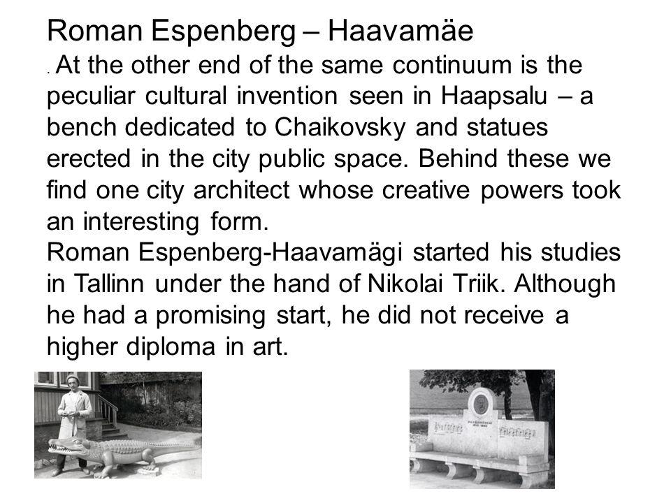 Roman Espenberg – Haavamäe.