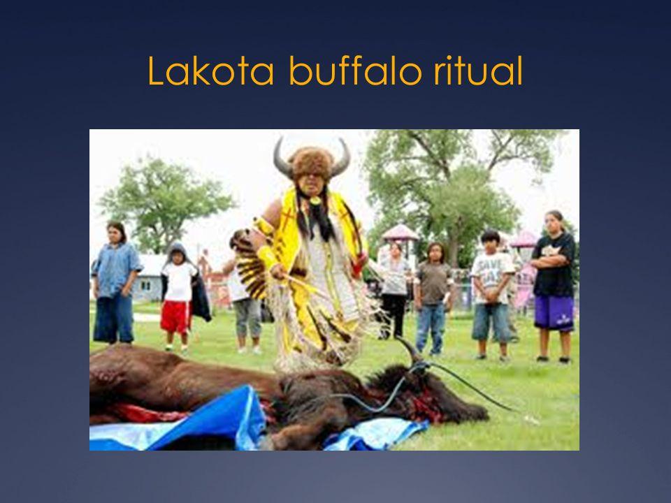 Lakota buffalo ritual