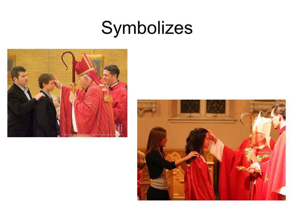 Symbolizes