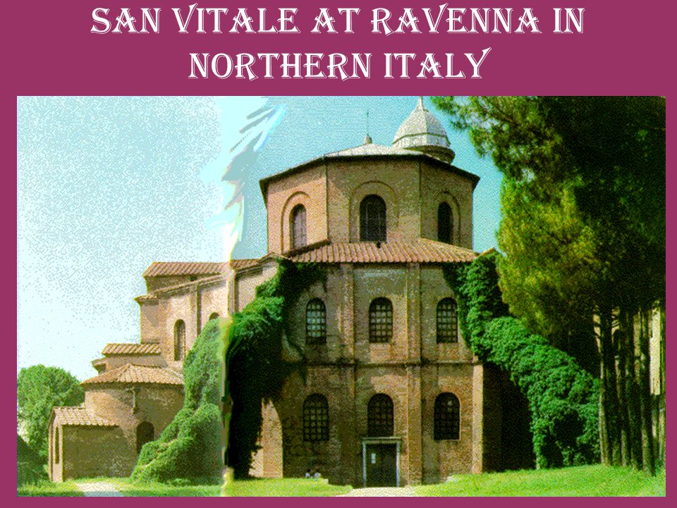 San Vitale at Ravenna in northern Italy