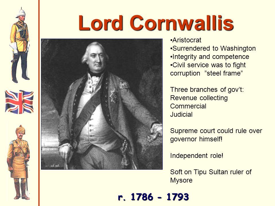 Lord Cornwallis r.