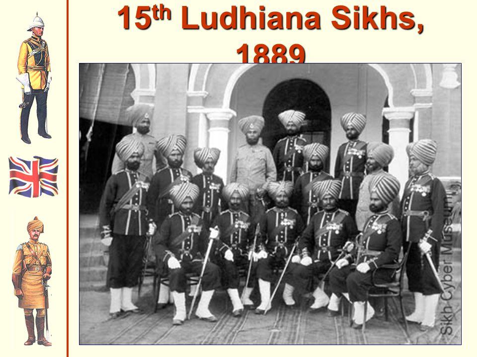15 th Ludhiana Sikhs, 1889