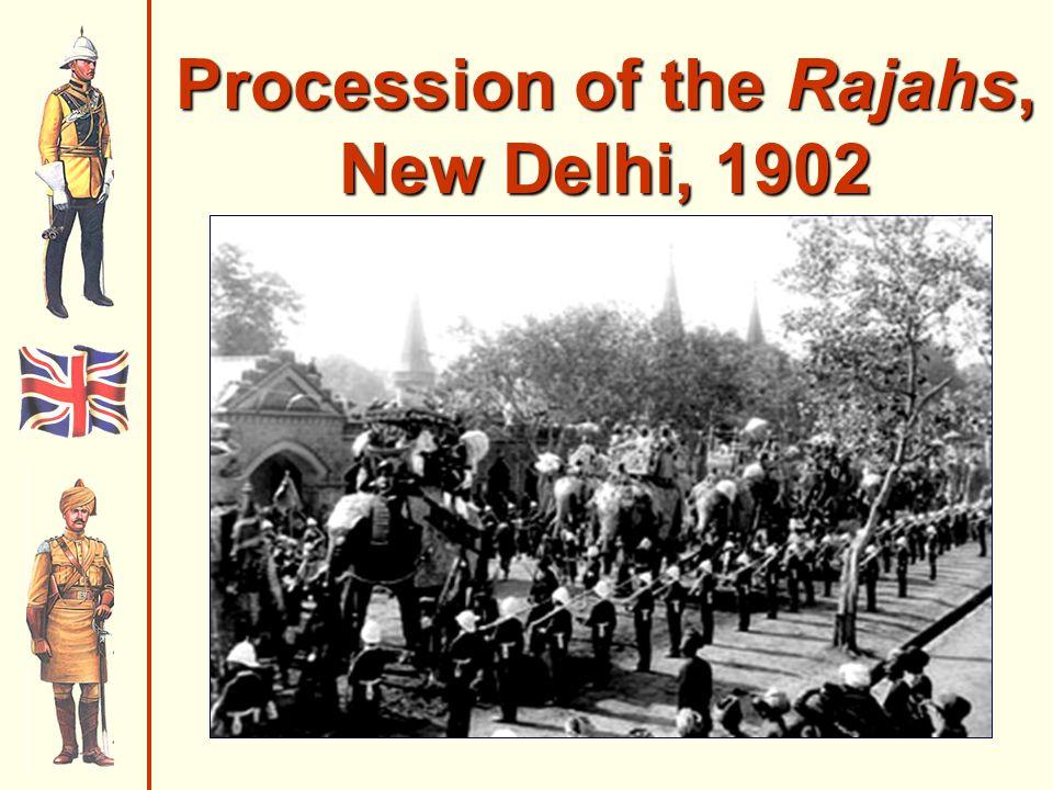 Procession of the Rajahs, New Delhi, 1902
