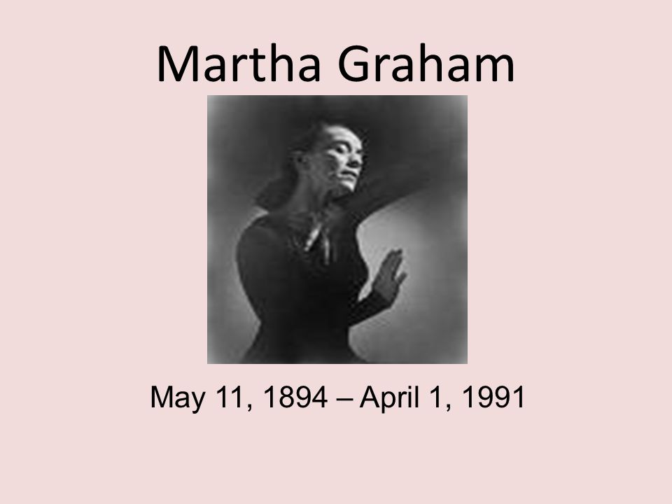 Martha Graham Martha Graham is recognized as a primal artistic force of the 20th Century alongside Picasso, Stravinsky, James Joyce, and Frank Lloyd Wright.