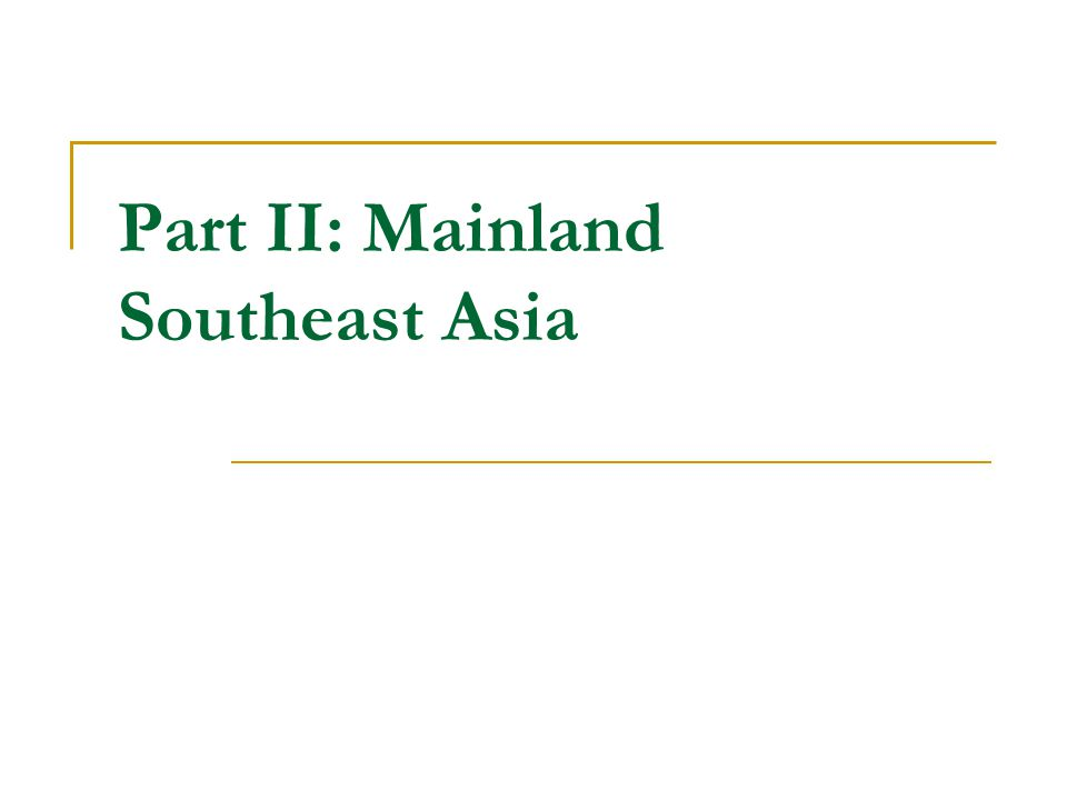 History four cultural regions: center, south, north, northeast Westernization began in the 19th century, but Thailand was not colonized Golden Age of Thailand between 13th and 17th centuries