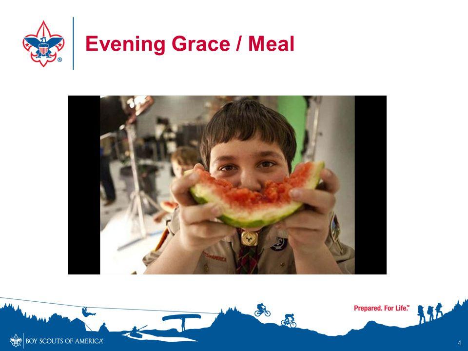 Evening Grace / Meal 4