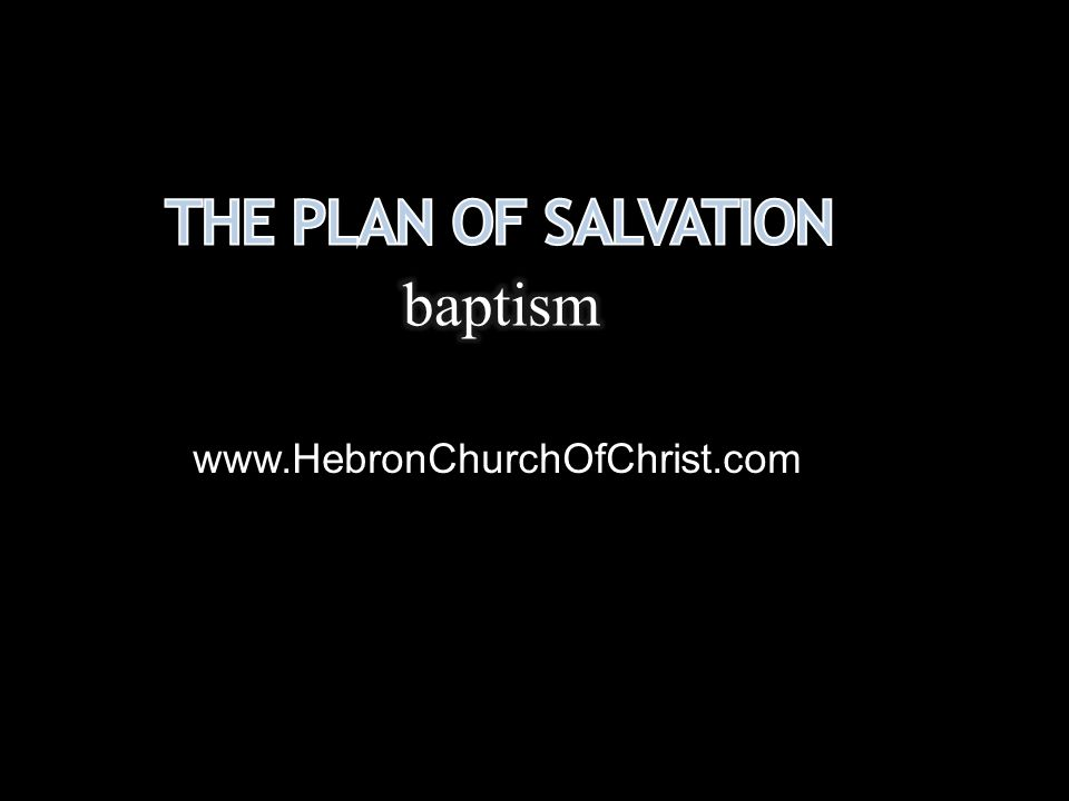 Baptism is disputed among men, but settled in the word of God Basic doctrine, Heb.