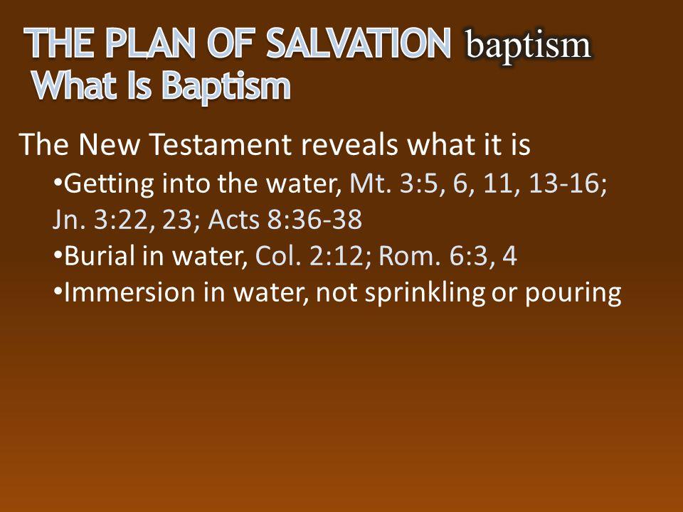 Jesus Make disciples, Mt. 28:19, 20 For salvation, Mk. 16:15, 16