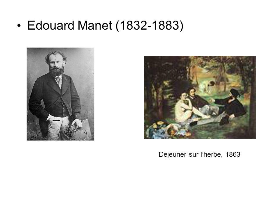 Edouard Manet (1832-1883) Dejeuner sur l'herbe, 1863