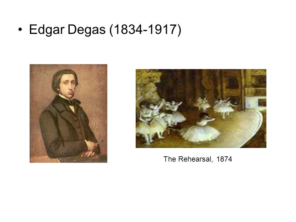 Edgar Degas (1834-1917) The Rehearsal, 1874