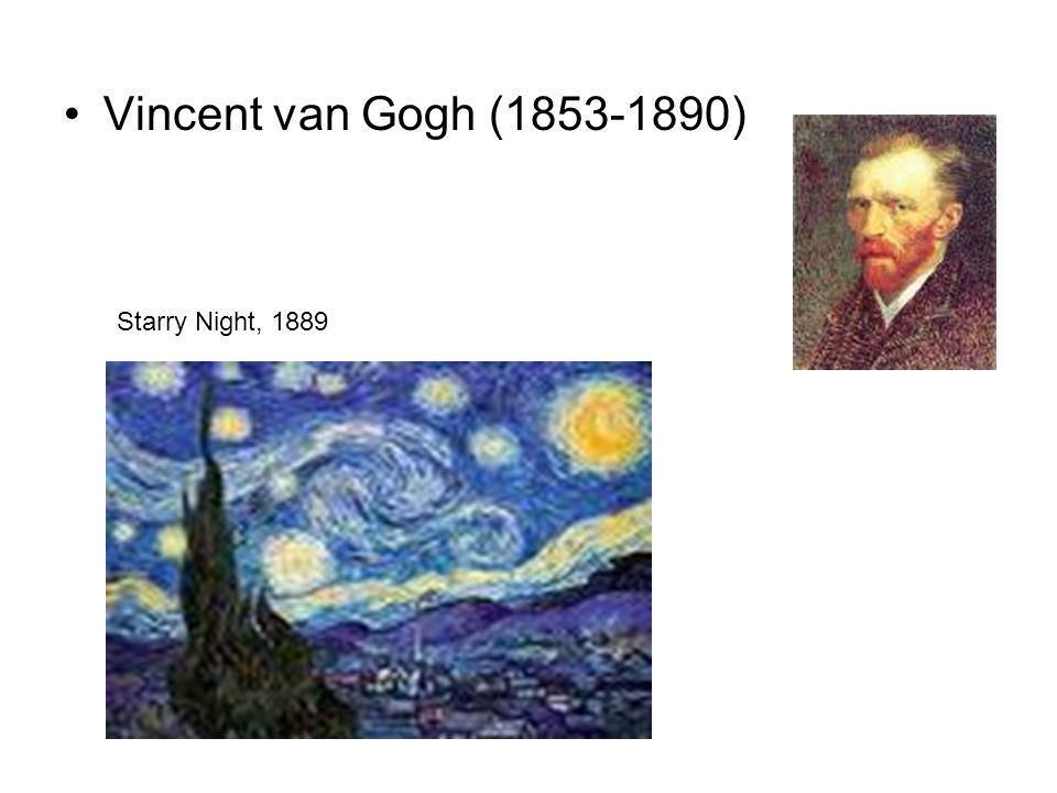 Vincent van Gogh (1853-1890) Starry Night, 1889