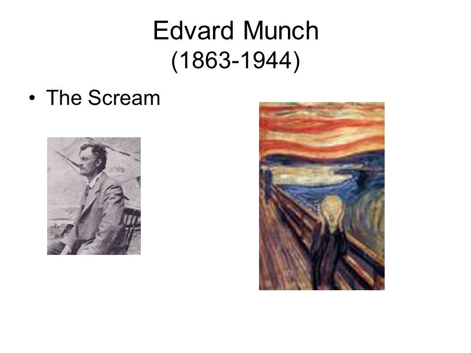 Edvard Munch (1863-1944) The Scream