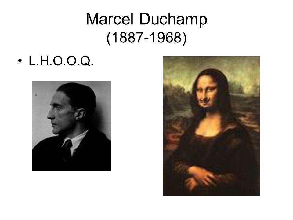 Marcel Duchamp (1887-1968) L.H.O.O.Q.