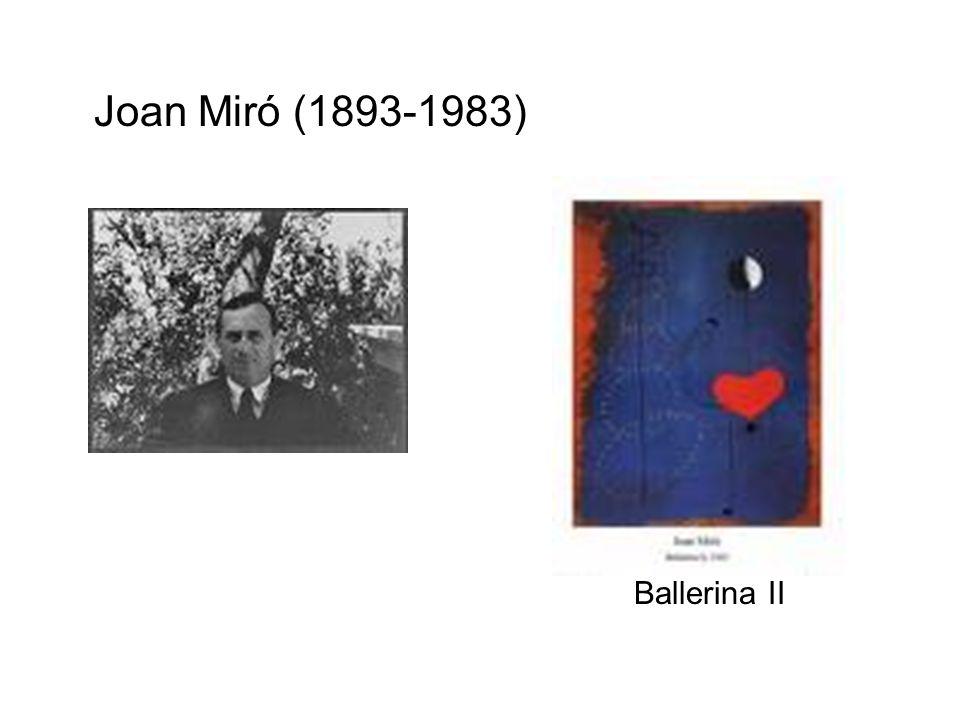 Joan Miró (1893-1983) Ballerina II