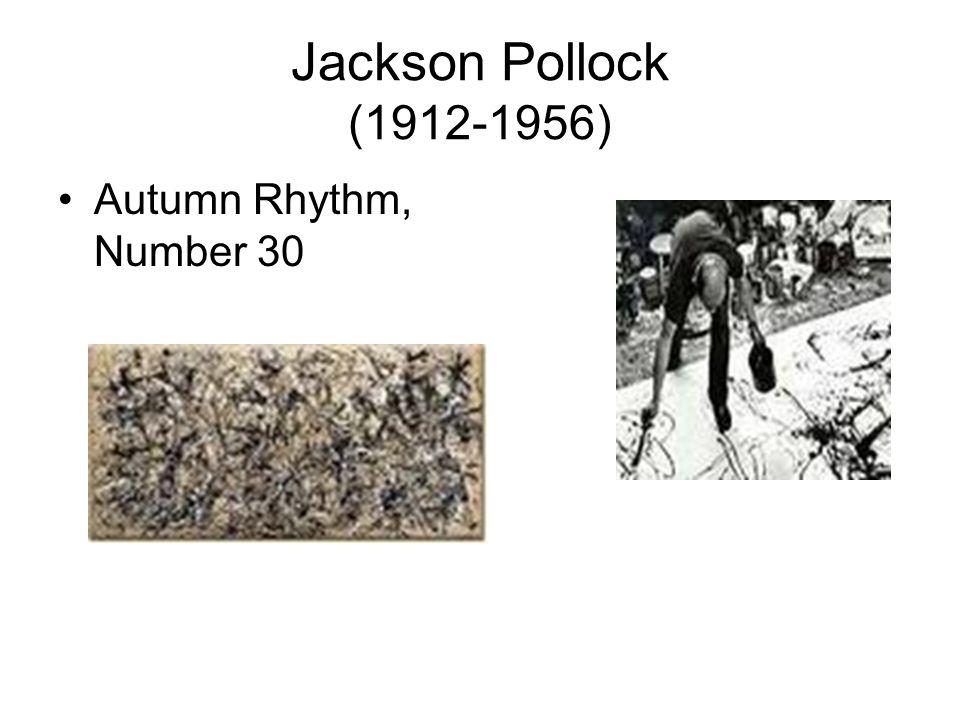 Jackson Pollock (1912-1956) Autumn Rhythm, Number 30