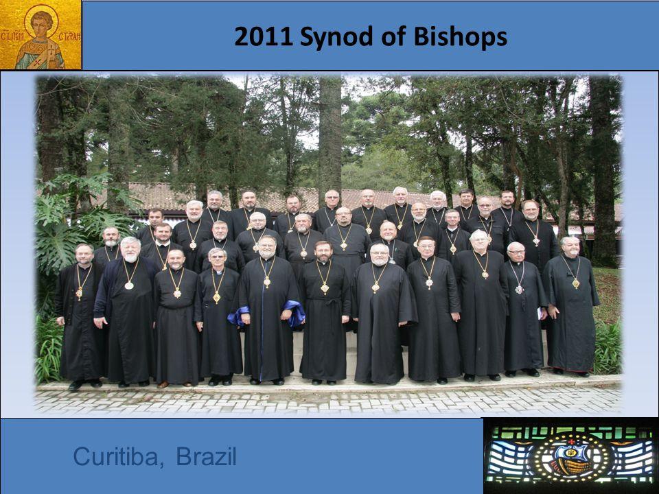 2011 Synod of Bishops Curitiba, Brazil