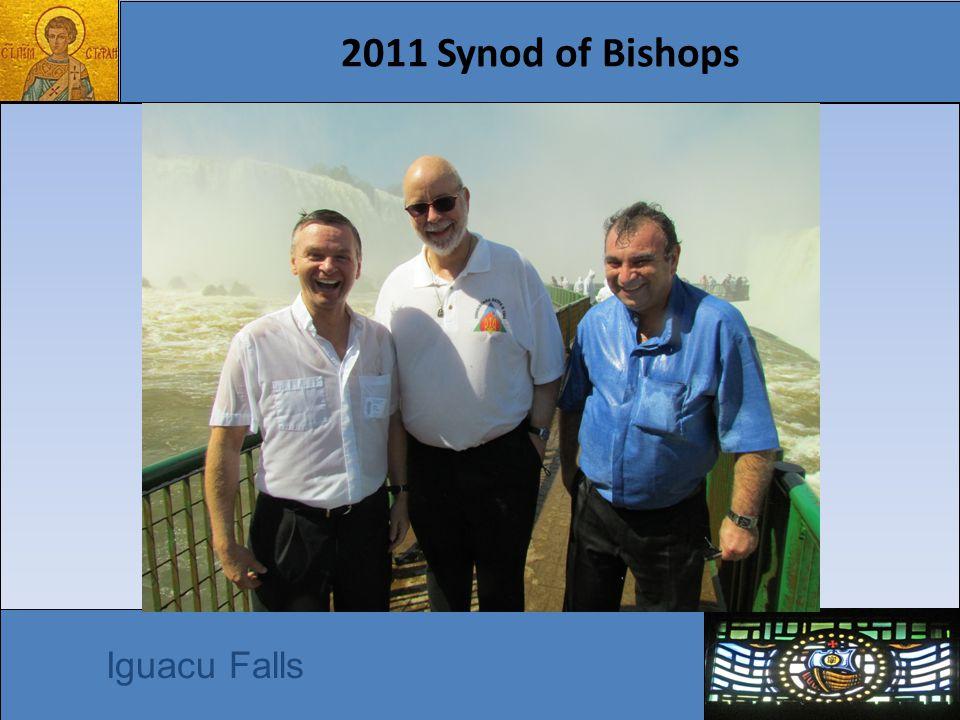 2011 Synod of Bishops Iguacu Falls