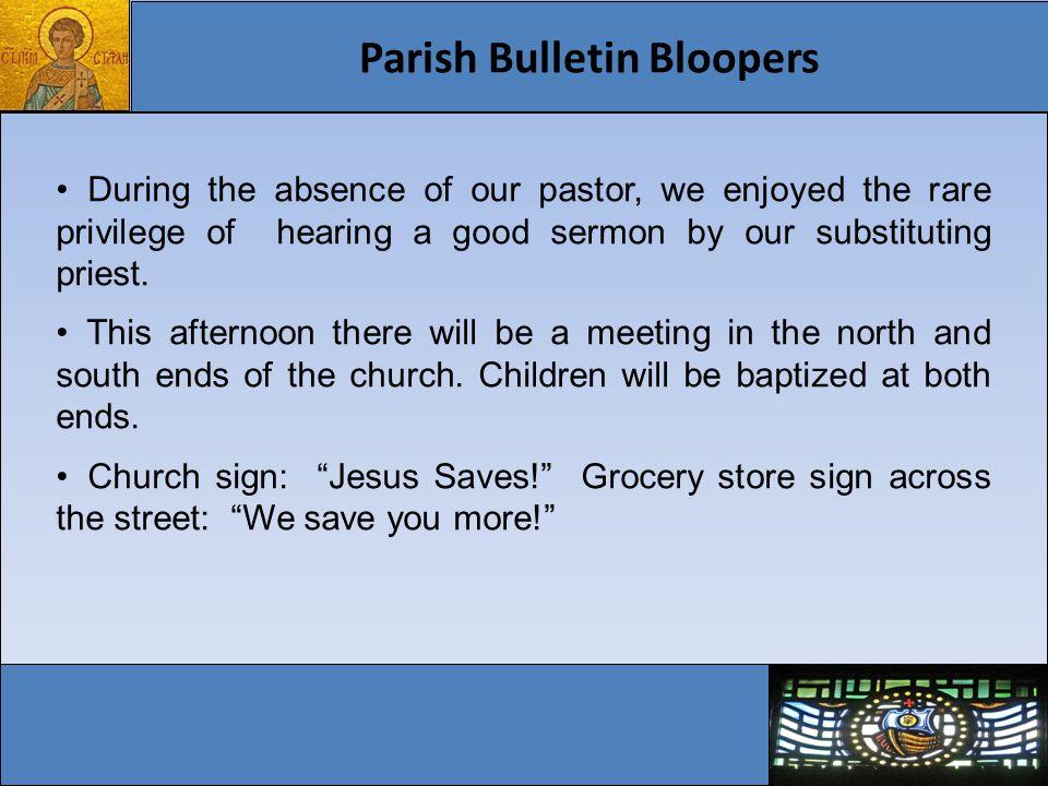 25 Year Eparchial Pastoral Plan Vibrant Parishes Evangelization – A New Springtime Vibrant Parishes: Places to Encounter the Living Christ