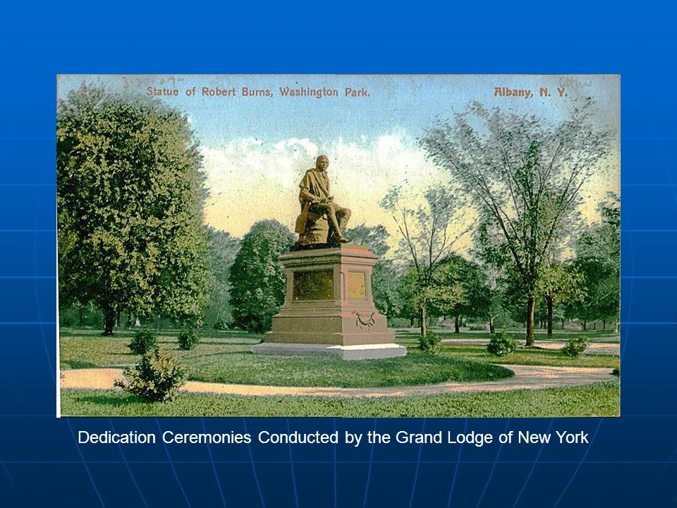 Dedication Ceremonies Conducted by the Grand Lodge of New York