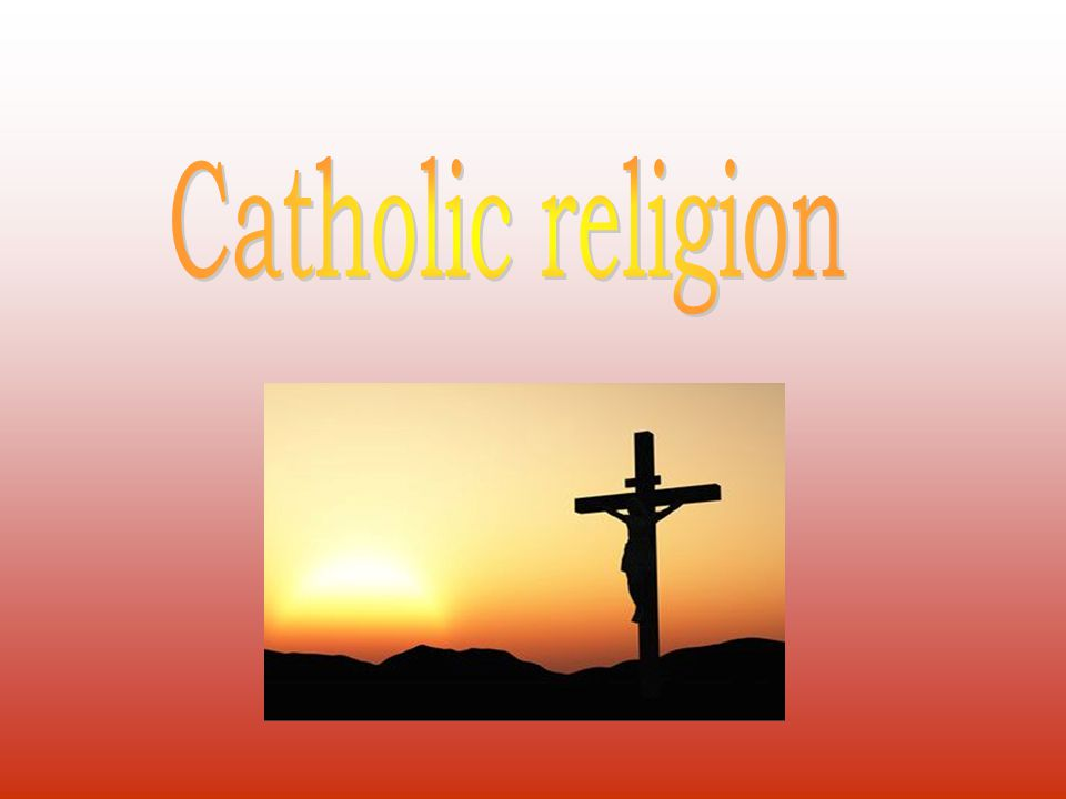 Catholic Church is one of the biggest Christian religious community in the world, wich proclaims rues of faith and life called Catholicism.