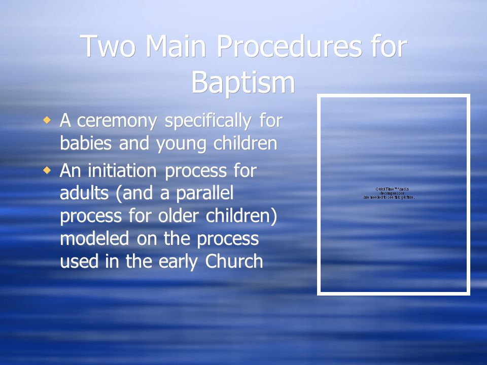 Evolution to 3 Sacraments  As the Church grew, bishops had trouble attending all the ceremonies  Priests performed baptisms more frequently  Bishop