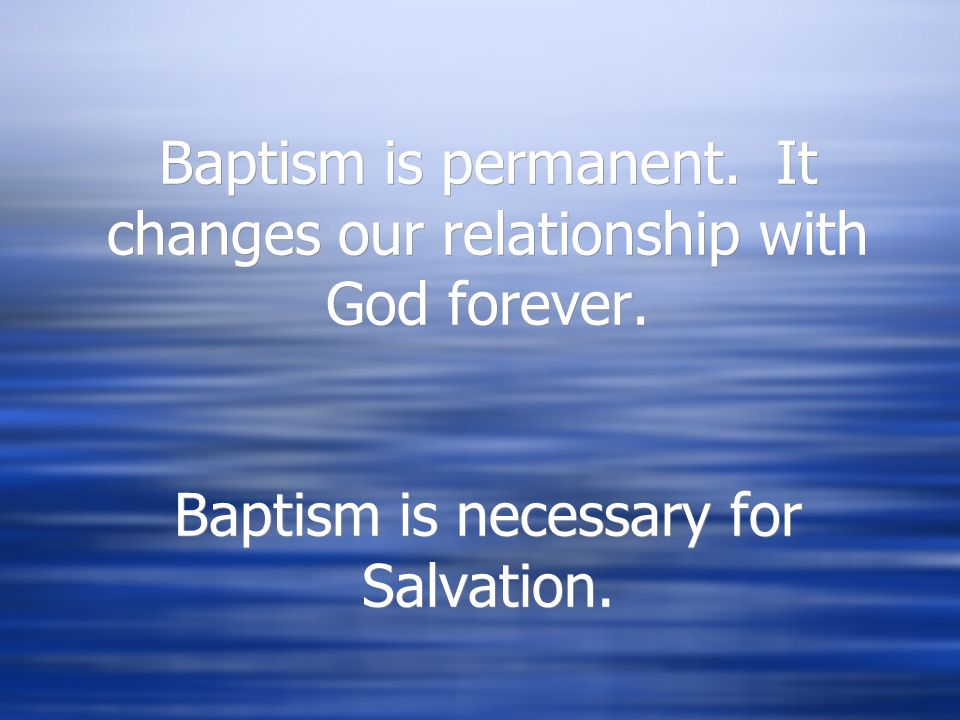 Baptism Celebrates…  These are the 5 realities that are celebrated in the sacrament of Baptism.  Welcome  Lifelong Conversion  Rebirth to a new id