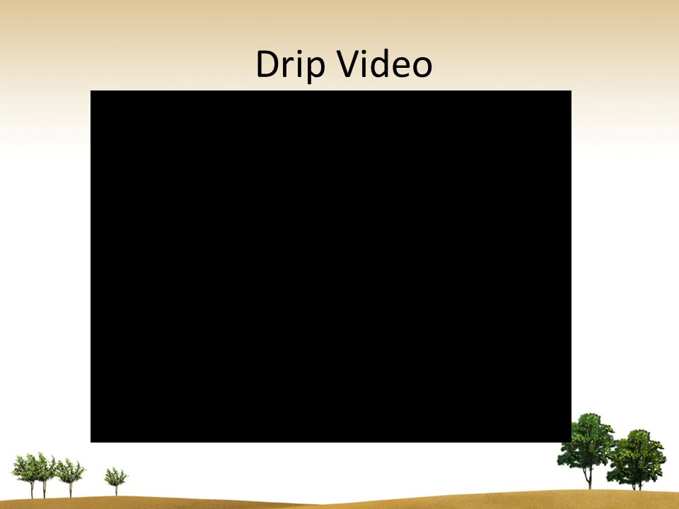 Aerobic Drip Installation & Testing Procedures Blanking: – Blanking sections are not be included in linear footage total – 6 of soil cover must be maintained over blanking sections.
