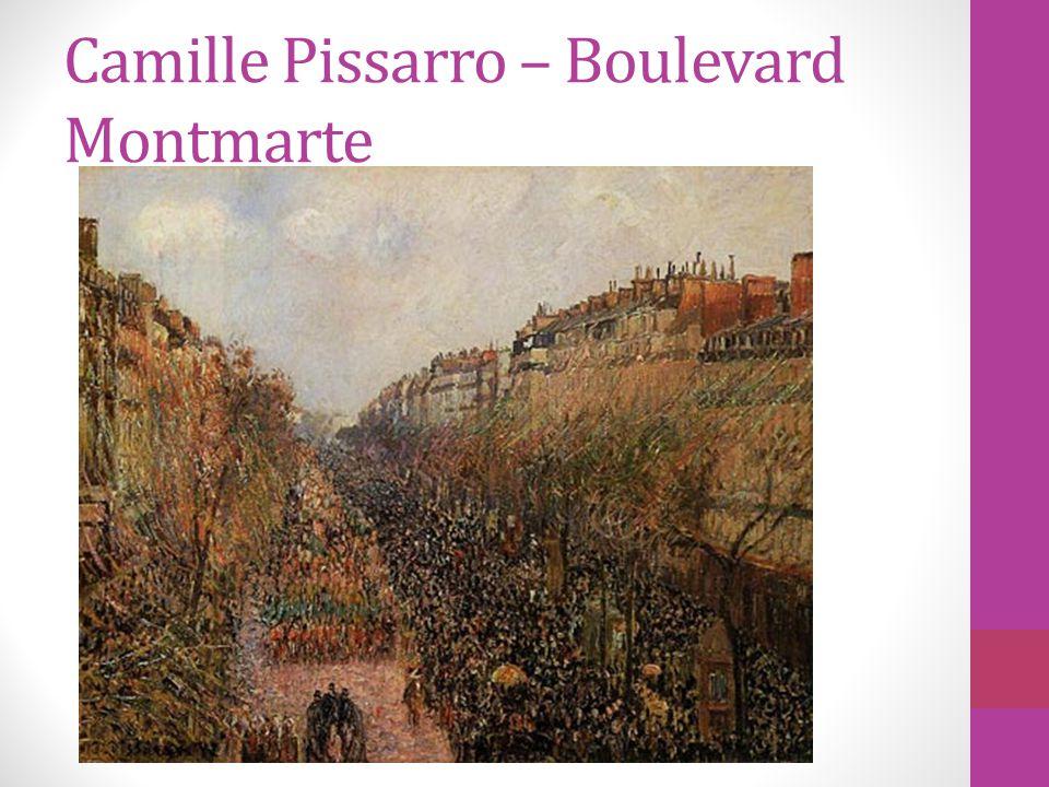 Camille Pissarro – Boulevard Montmarte